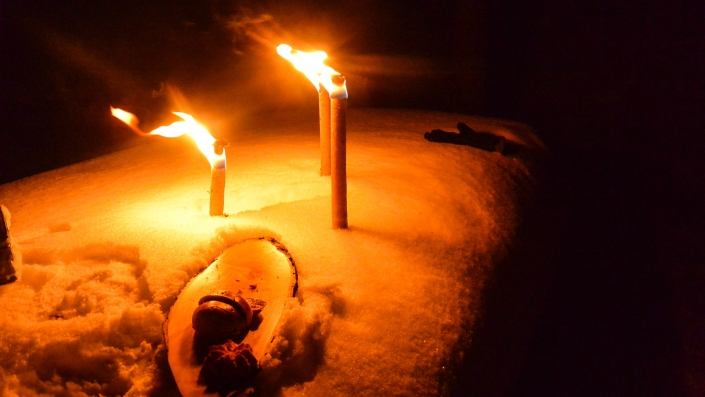 Geocaching by Night oder Schneeschuhwanderung als Teamevent in Luzern