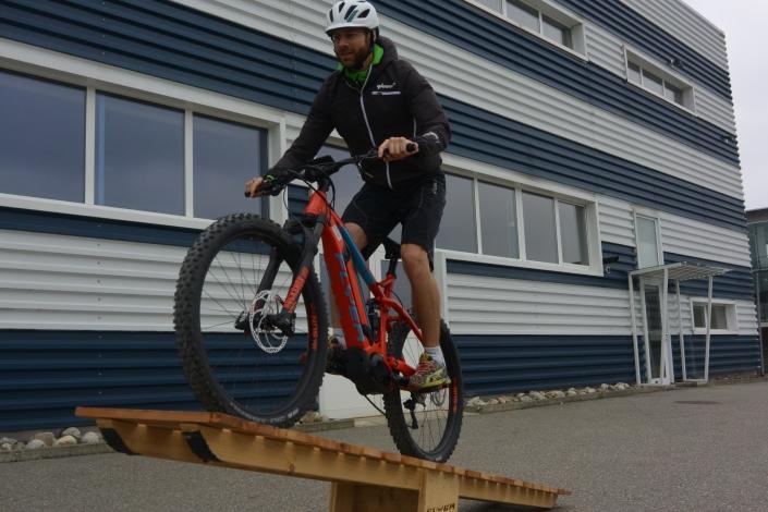 Flyer E Mountainbike Kurs am Werk
