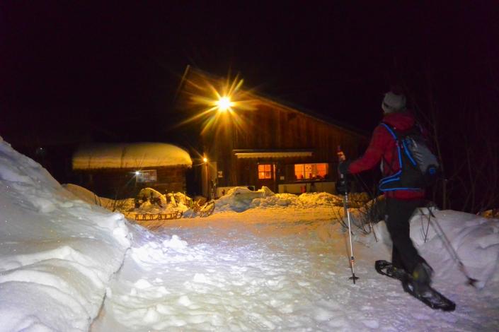 Verpflegung Schneeschuhwandern Einsiedeln