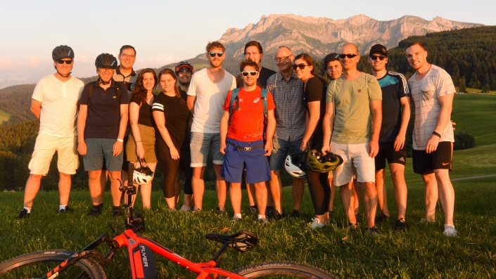 Tour E Mountainbike Gruppe