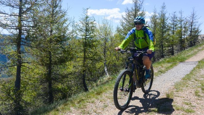 Tour E Mountainbike Trail