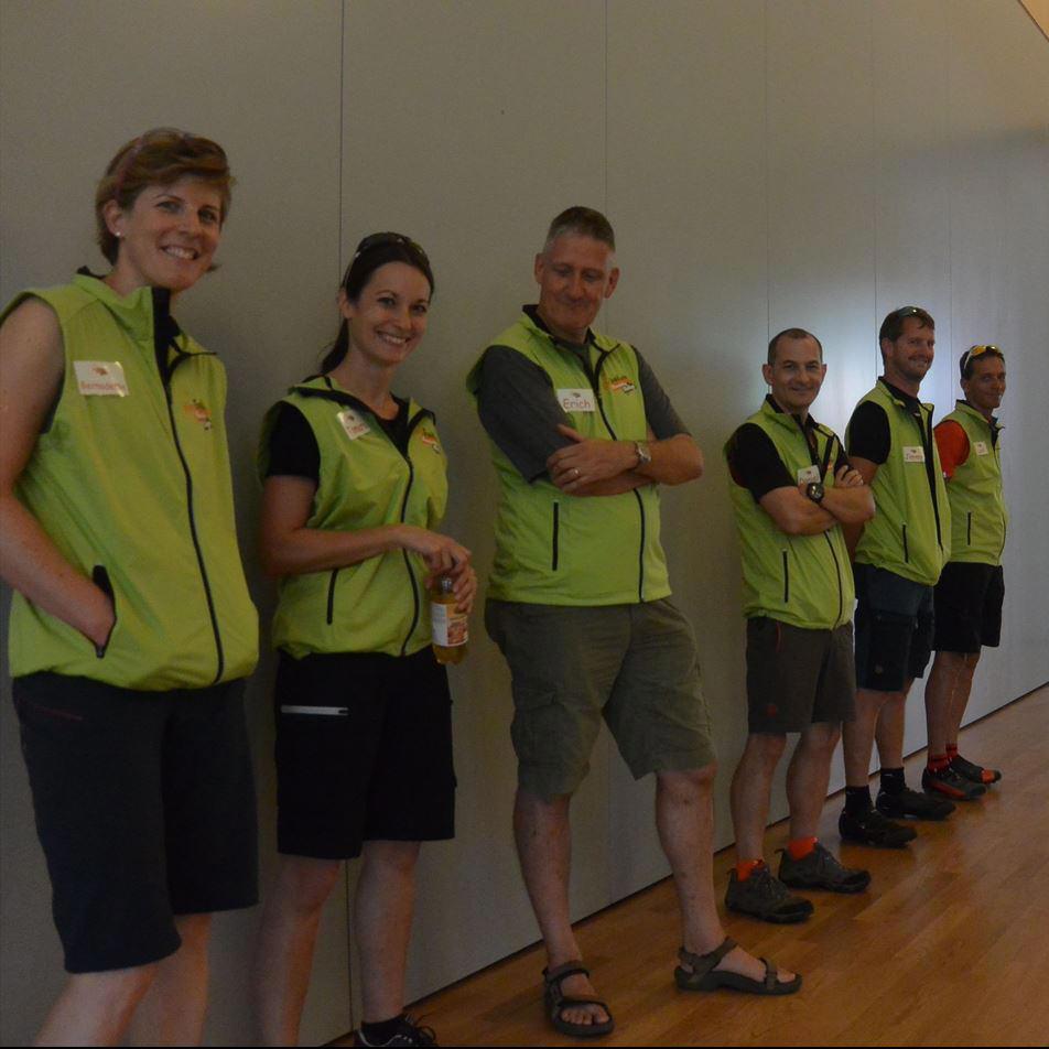 Unser Team aus erfahrenen Guides hilft bei der Organisation der Events